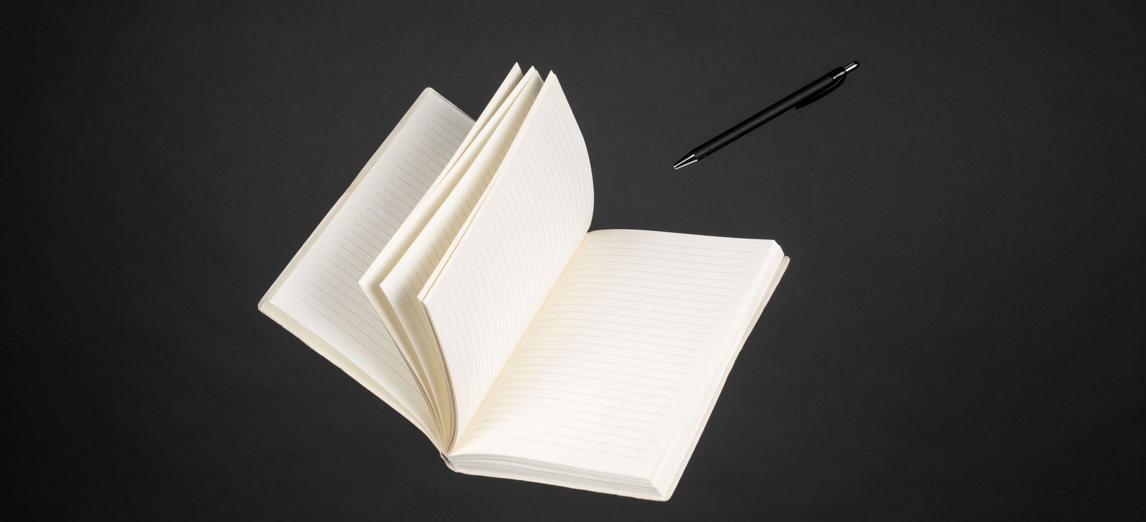 Notepad and pen of Bob Taylor - freelance copywriter in Bournemouth