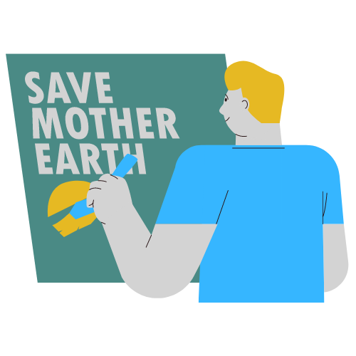 CopyBean Save Mother Earth Image