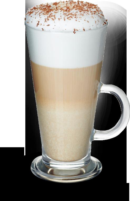 CopyBean Latte Glass