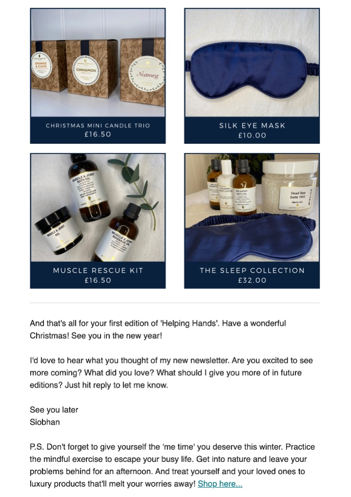 NMC email newsletter 5