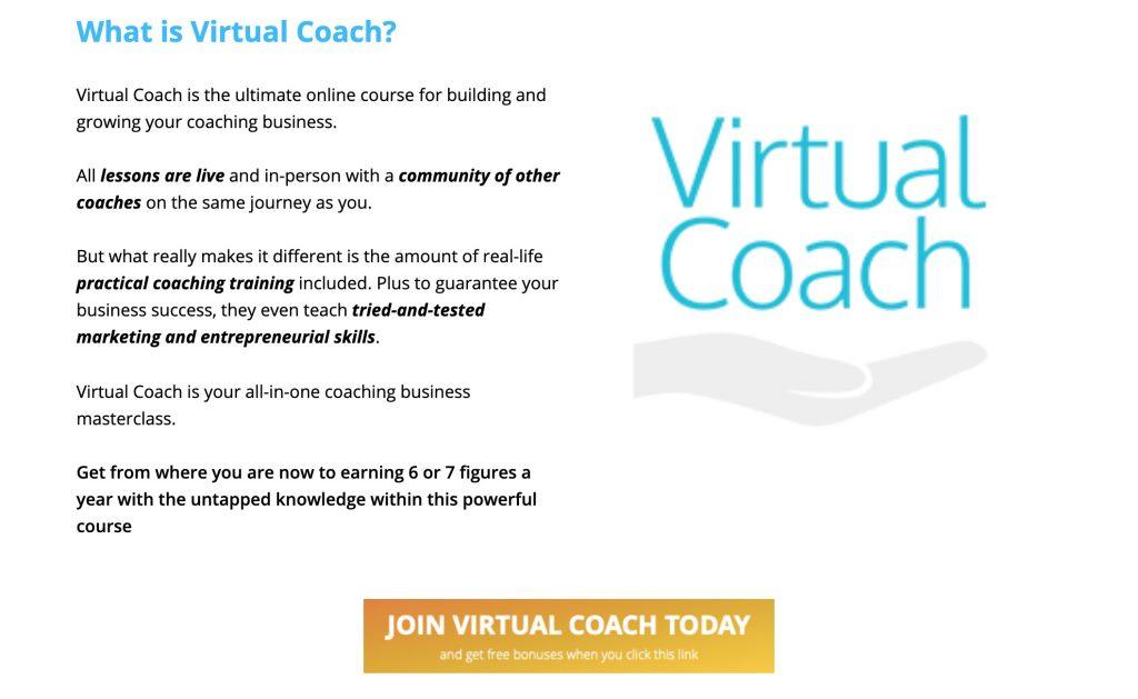 Virtual Coach Affiliate LP Image 5