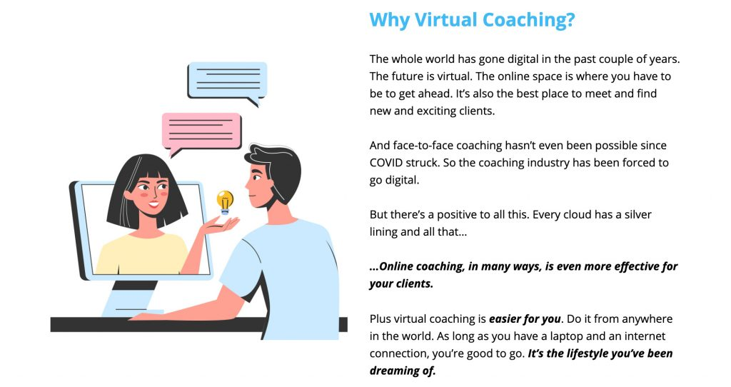 Virtual Coach Affiliate LP Image 6